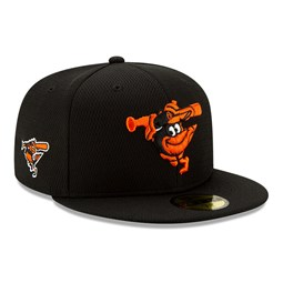 Baltimore Orioles Black Batting Practice 59FIFTY Cap