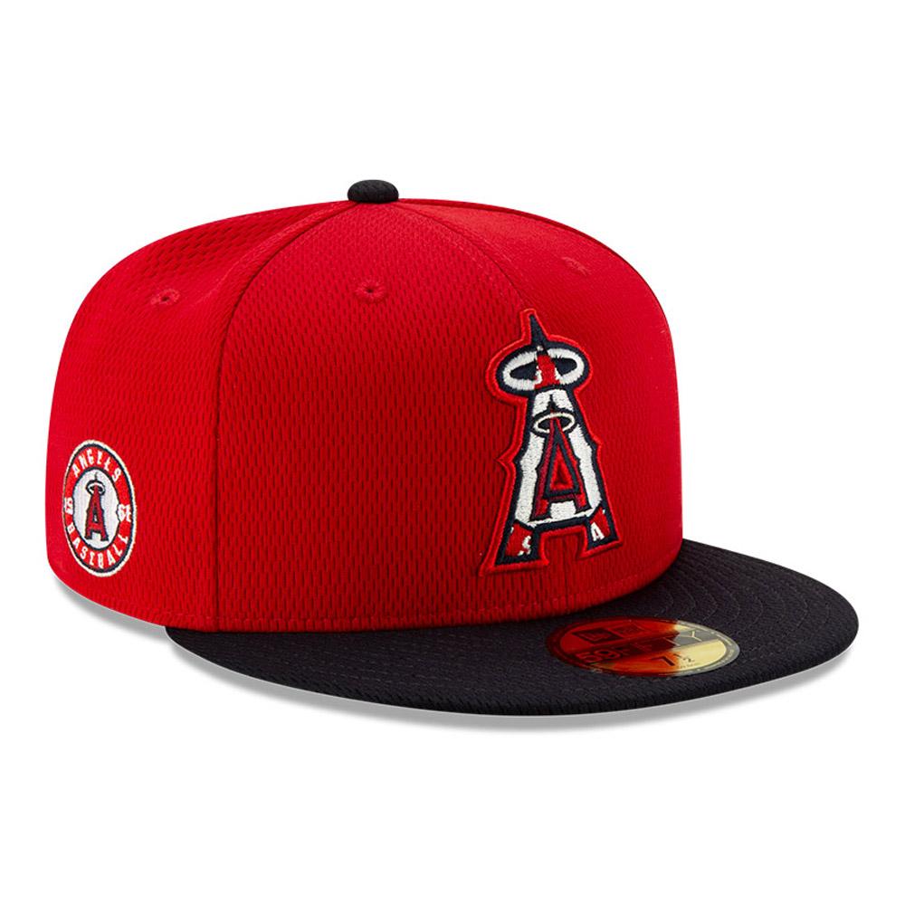 Gorra Anaheim Angels Batting Practice 59FIFTY, rojo