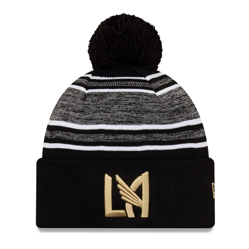 Los Angeles FC Black Striped Bobble Knit
