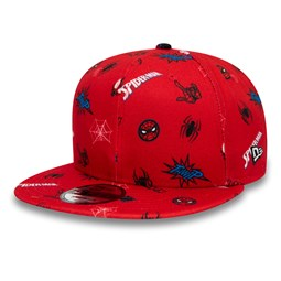 Gorra Spiderman and Miles Power Couple Logo 9FIFTY, rojo