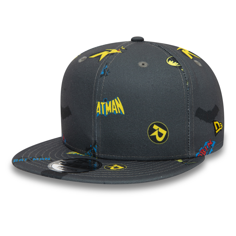 Cappellino 9FIFTY Power Couple Batman e Robin grigio