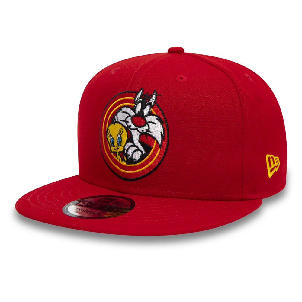 Gorra Tweety Bird and Sylvester Power Couple 9FIFTY, rojo