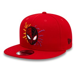 Gorra Spiderman and Miles Power Couple 9FIFTY, rojo