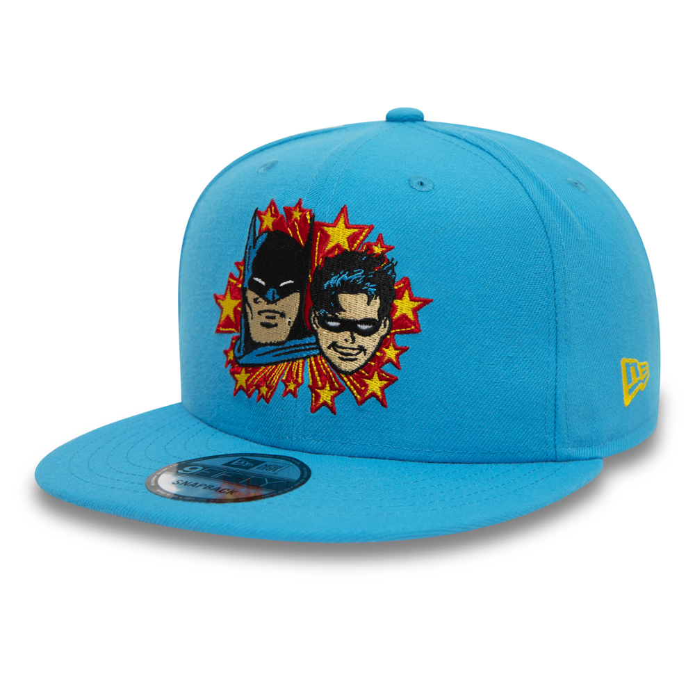 Cappellino 9FIFTY Power Couple Batman e Robin blu