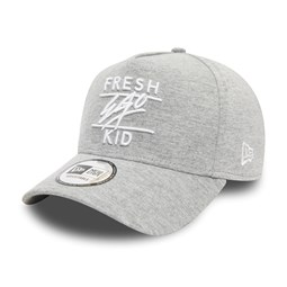 Gorra trucker Fresh Ego Kid Jersey, gris