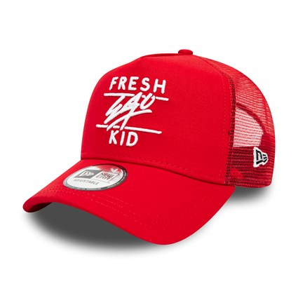 Fresh Ego Kid Core Red Trucker