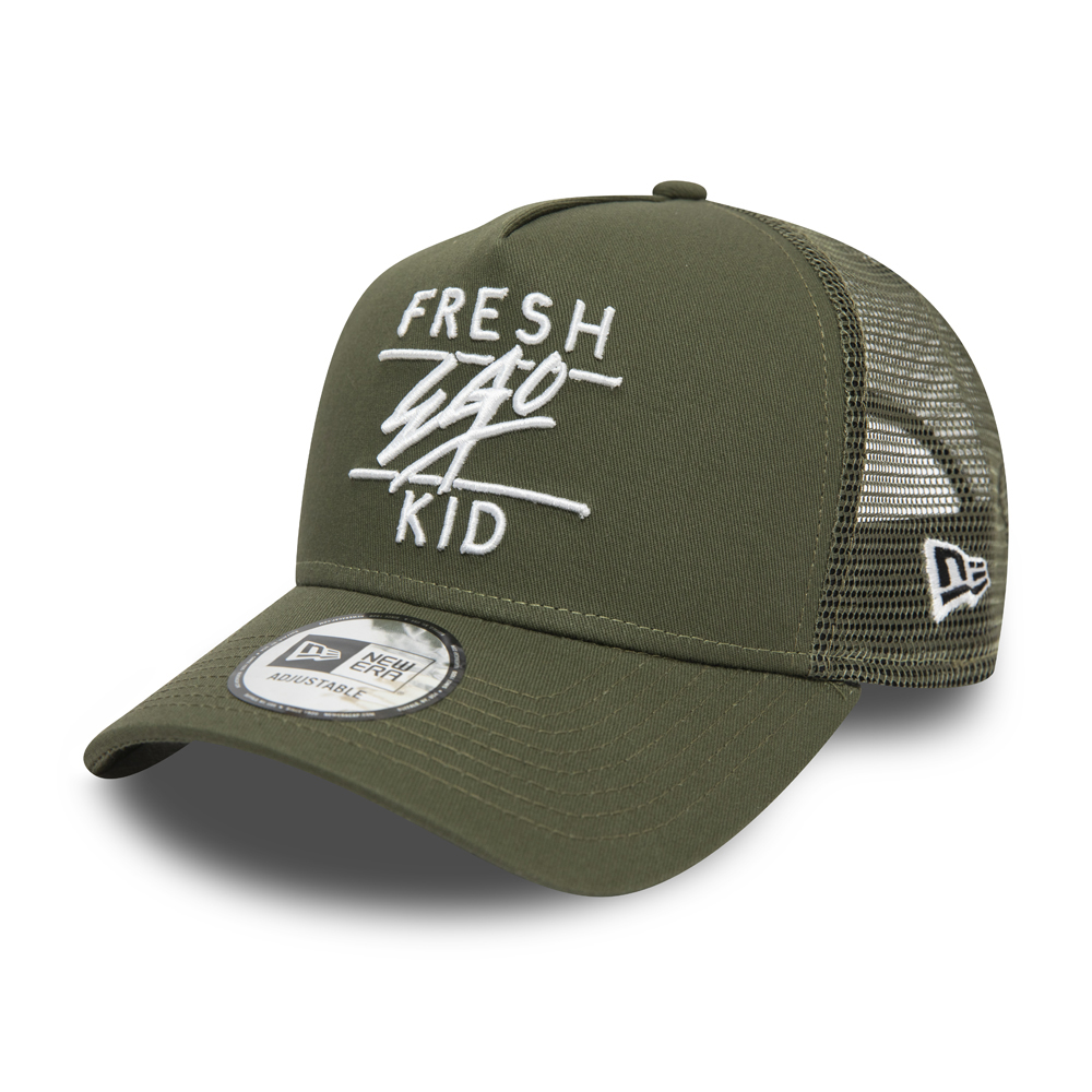 Cappellino Trucker Fresh Ego Kid Core verde