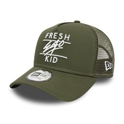 Fresh Ego Kid Core Green Trucker