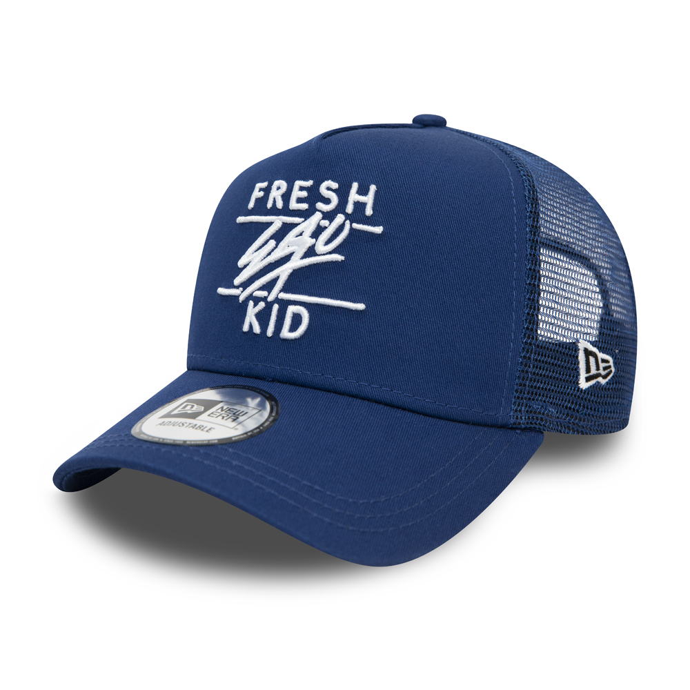 Fresh Ego Kid Core Blue Trucker