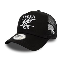 Fresh Ego Kid Core Black Trucker
