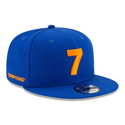Casquette 9FIFTY bleue Compound X New Era