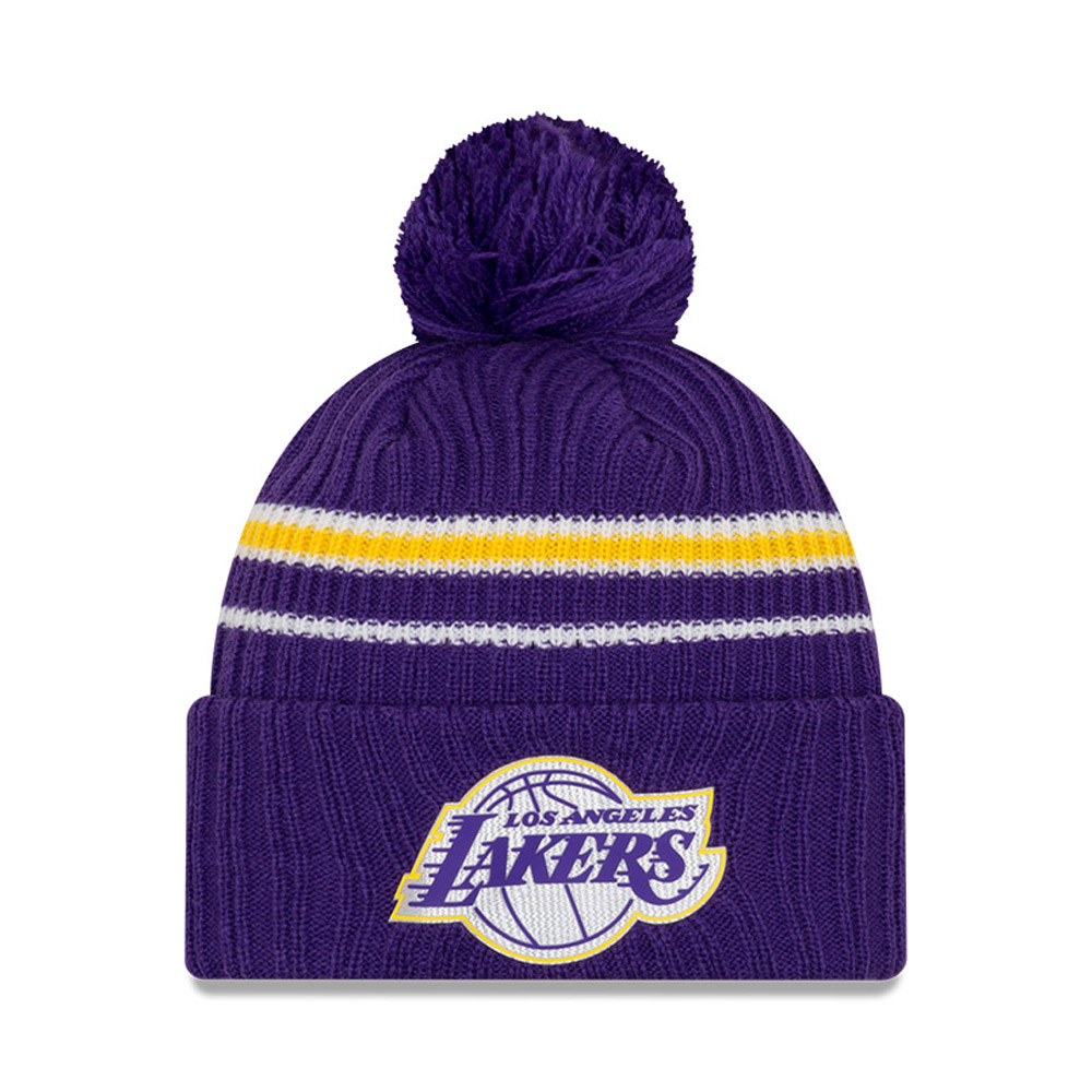 Back Half Beanie der Los Angeles Lakers in Lila