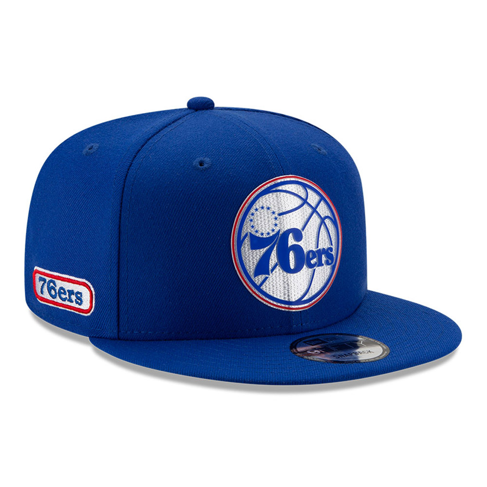 Gorra Philadelphia 76ERS Back Half 9FIFTY, azul