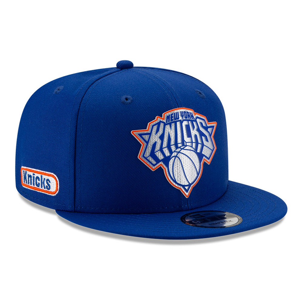 Back Half 9FIFTY-Kappe der New York Knicks in Blau