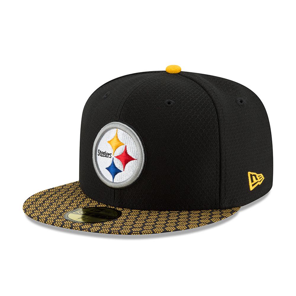 59FIFTY – Pittsburgh Steelers – 2017 Sideline, Schwarz