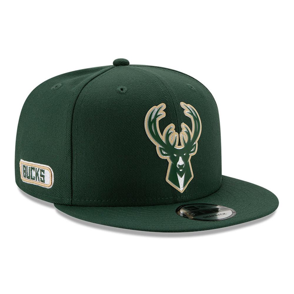 Gorra Milwaukee Bucks Back Half 9FIFTY, verde