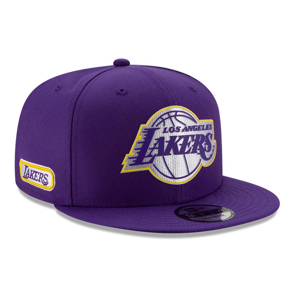 Gorra Los Angeles Lakers Back Half 9FIFTY, morada