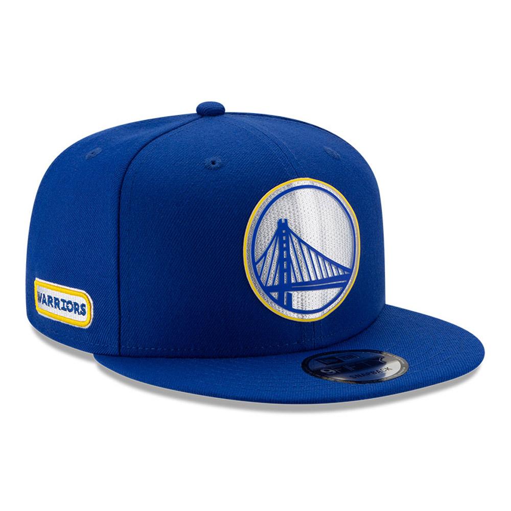 Back Half 9FIFTY-Kappe der Golden State Warriors in Blau