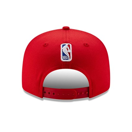 Chicago Bulls Back Half Red 9FIFTY Cap