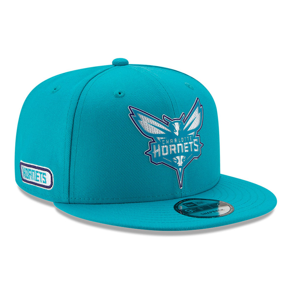 Charlotte Hornets Back Half Blue 9FIFTY Cap