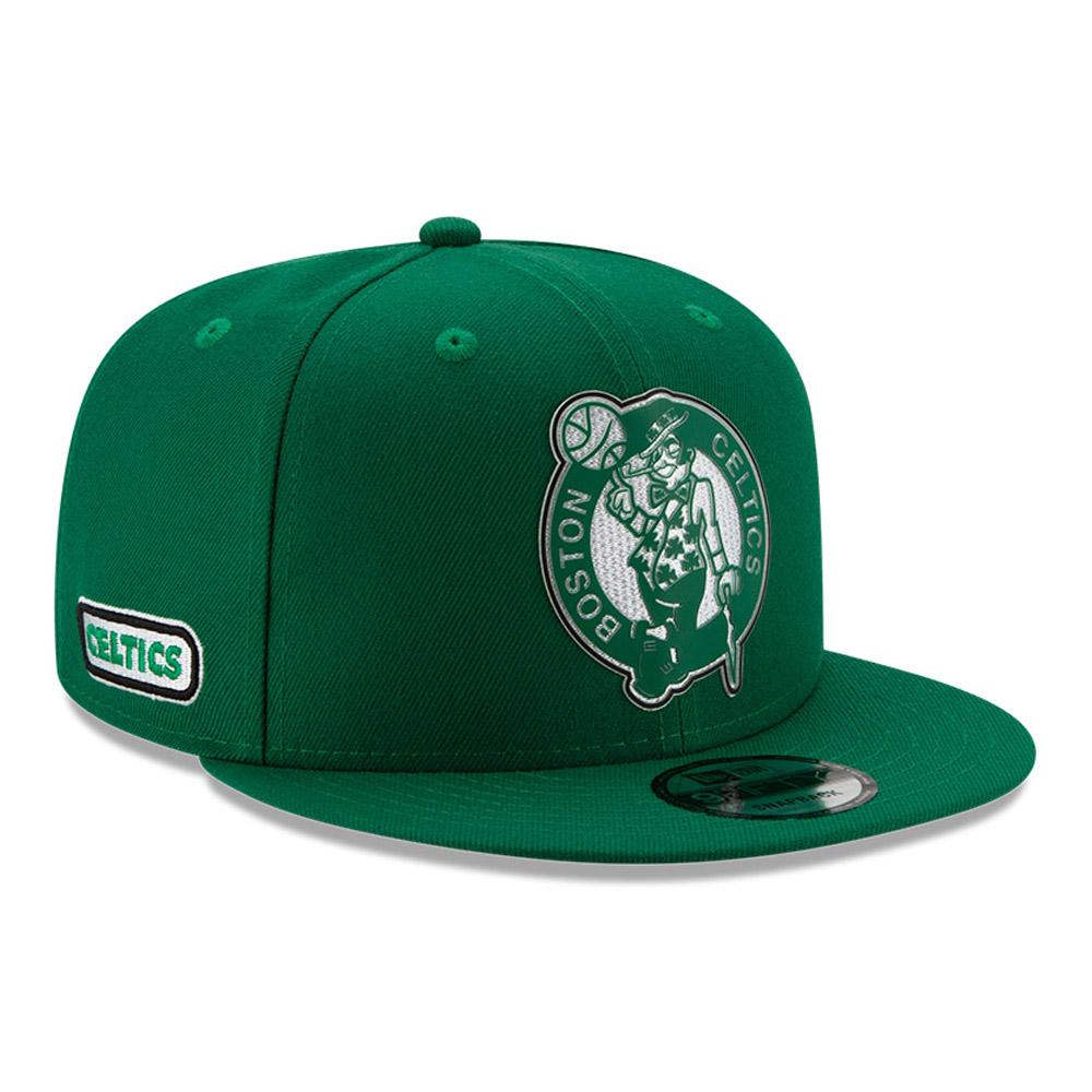 Gorra Boston Celtics Back Half 9FIFTY, verde