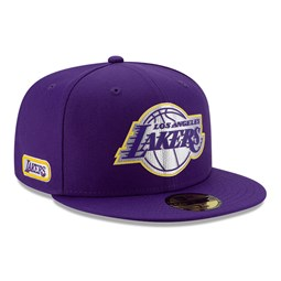 Back Half 59FIFTY-Kappe der Los Angeles Lakers in Lila