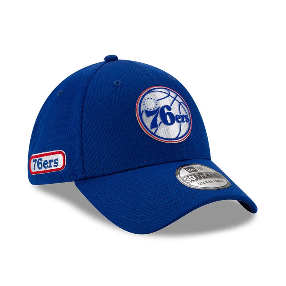 Back Half 39THIRTY-Kappe der Philadelphia 76ERS in Blau