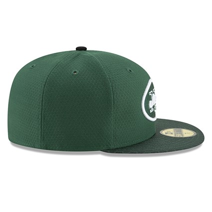 New York Jets 2017 Sideline Green 59FIFTY