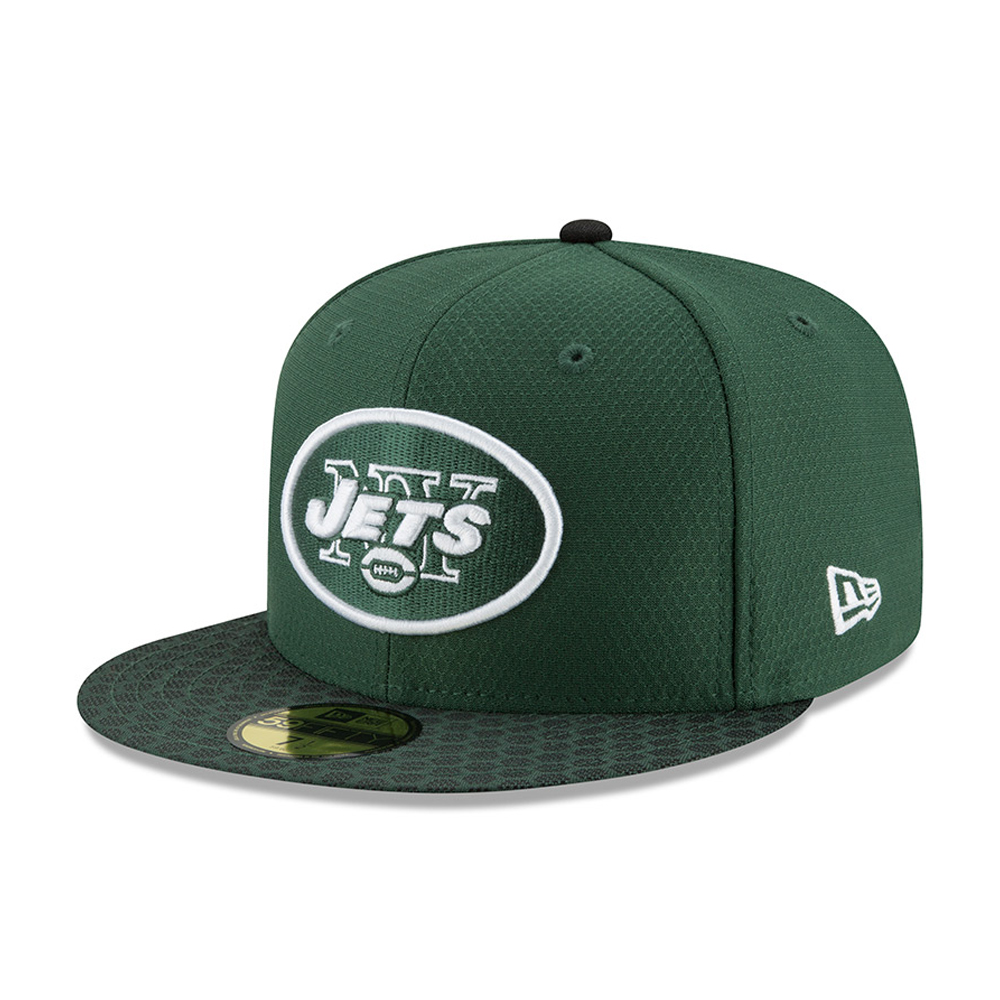 New York Jets 2017 Sideline 59FIFTY verde