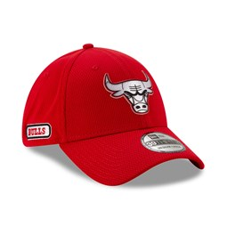 Chicago Bulls Back Half Red 39THIRTY Cap