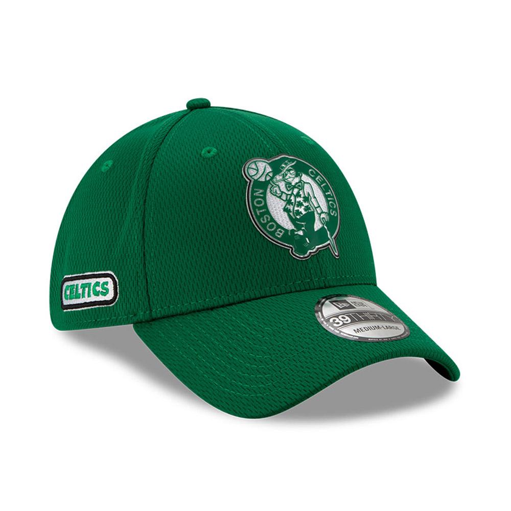 Gorra Boston Celtics Back Half 39THIRTY, verde