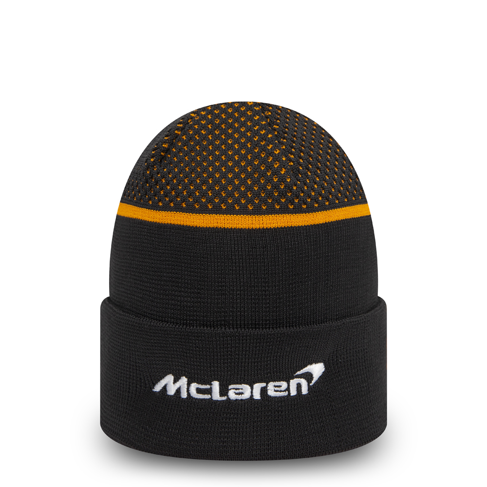McLaren Racing Team Replica Beanie in Schwarz