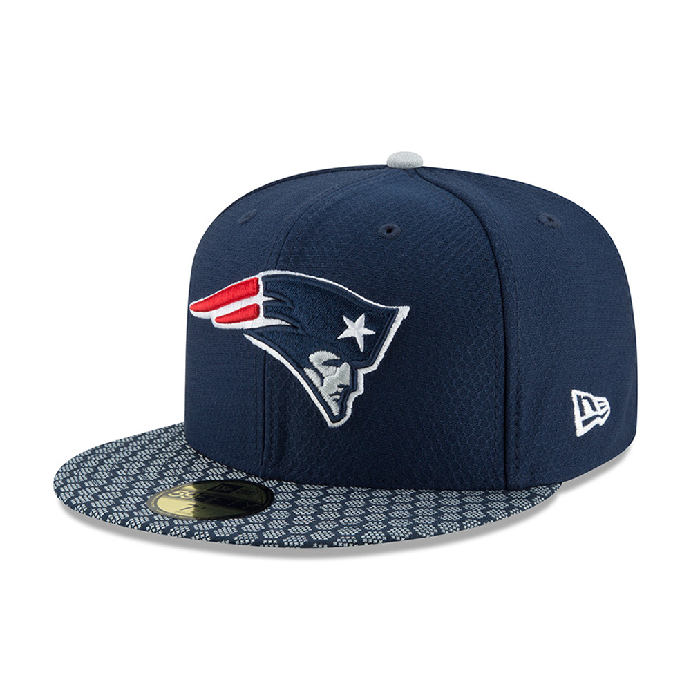 New England Patriots 2017 Sideline Navy 59FIFTY 45fc149318f4