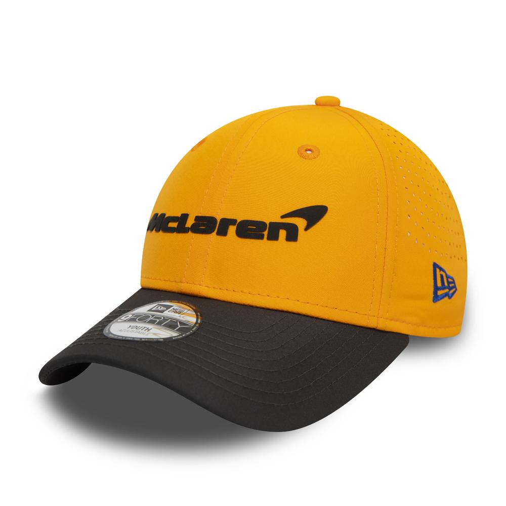 Gorra McLaren Carlos Sainz 9FORTY, naranja
