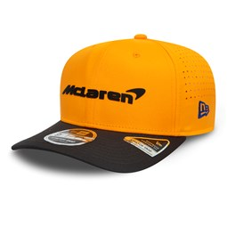 Gorra Mclaren Lando Norris Stretch Snap 9FIFTY, naranja