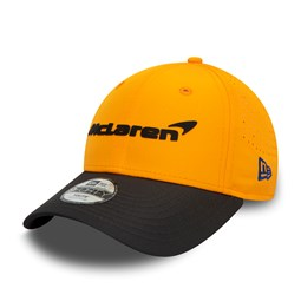 Gorra McLaren Lando Norris 9FORTY, naranja, niño