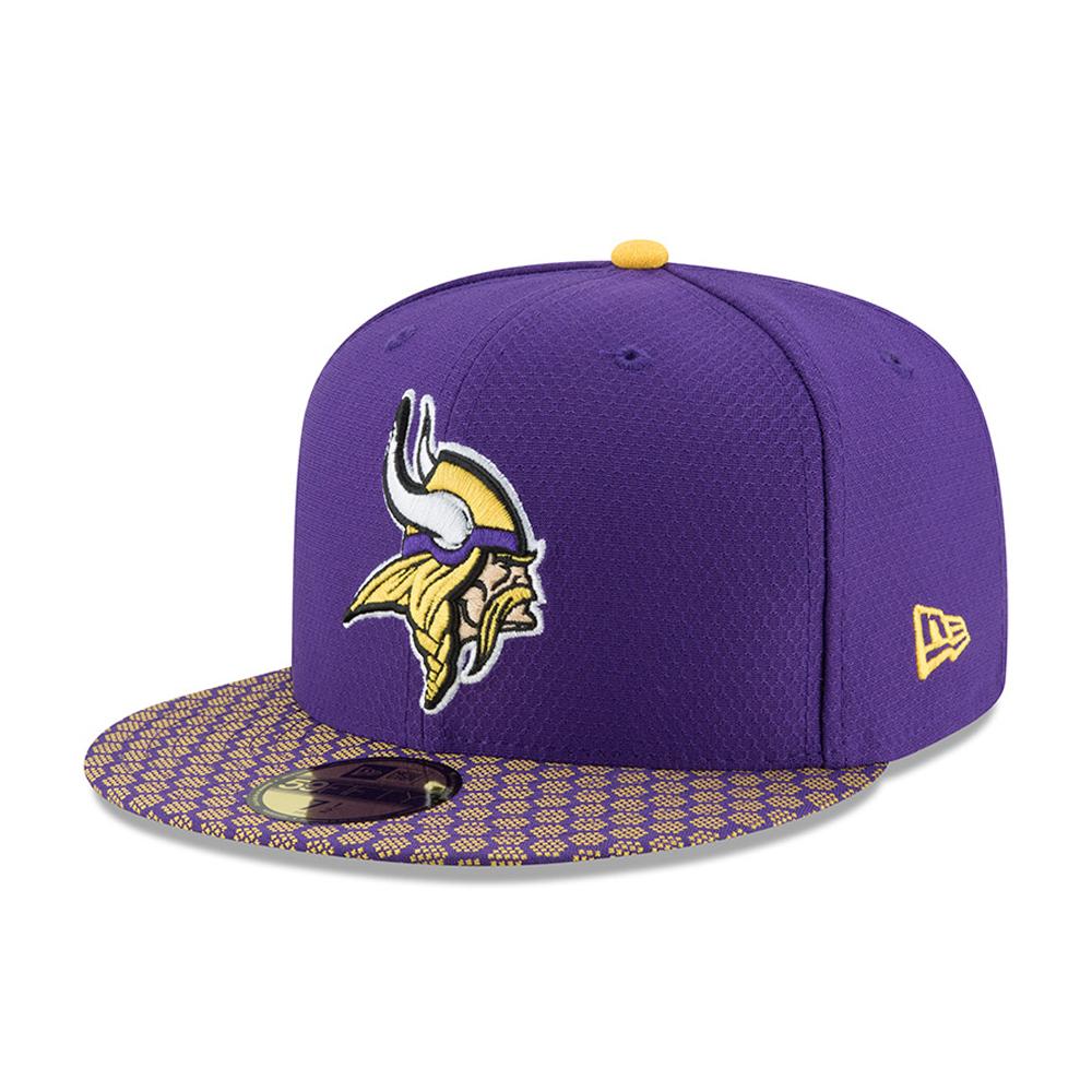 Minnesota Vikings 2017 Sideline Purple 59FIFTY
