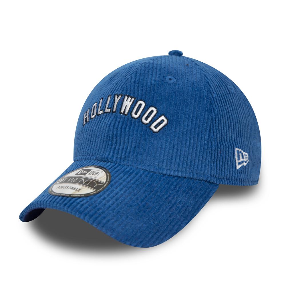 Casquette bleue 9TWENTY Hollywood Stars Cord