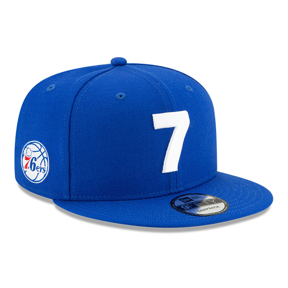 Gorra Philadelphia 76ERS Compound 9FIFTY, azul