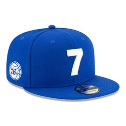 Philadelphia 76ERS Compound 9FIFTY-Kappe in Blau