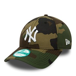 NY Yankees Camo Essential 9FORTY