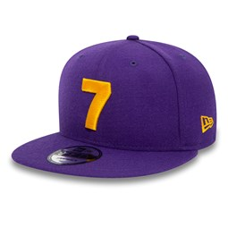 Los Angeles Lakers Compound 9FIFTY-Kappe in Lila