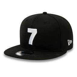 Casquette 9FIFTY noire Compound des Nets de Brooklyn