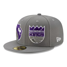 Sacramento Kings 100 Year Grey 59FIFTY Cap