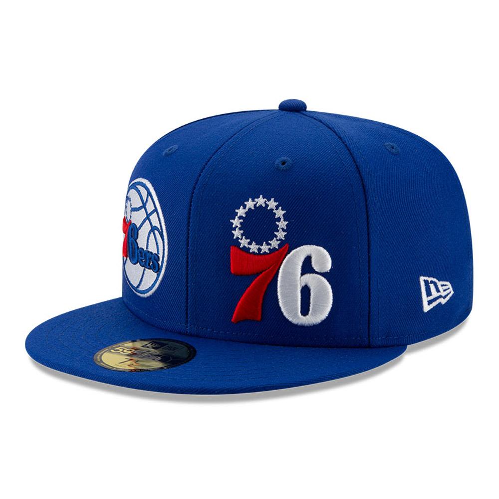 59FIFTY – 100 Year – Philadelphia 76ERS – Blau