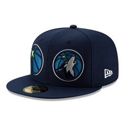 Cappellino Minnesota Timberwolves 100 Year 59FIFTY blu