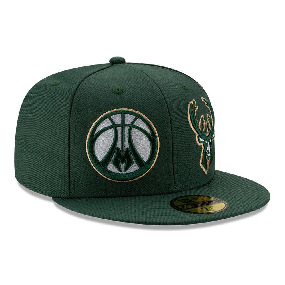 59FIFTY – 100 Year – Milwaukee Bucks – Grün