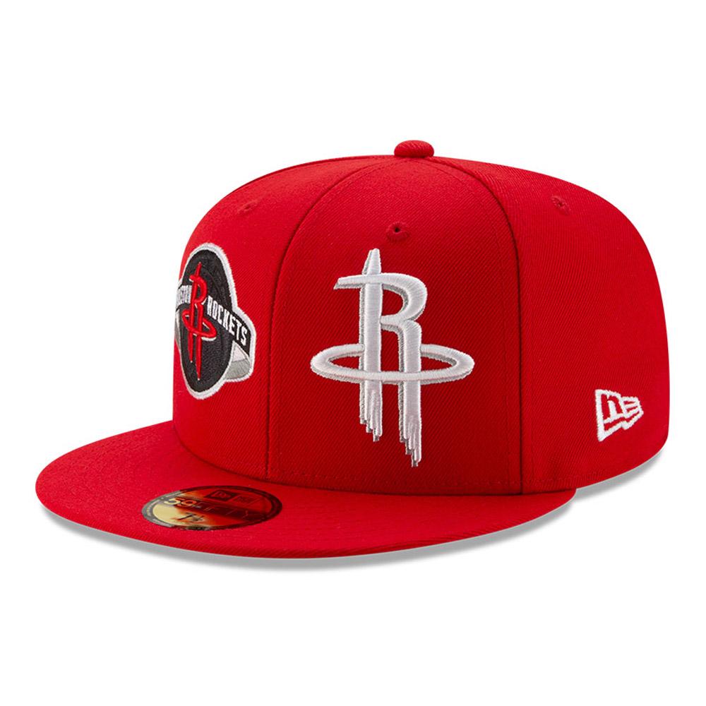 Gorra Houston Rockets 100 años 59FIFTY, rojo