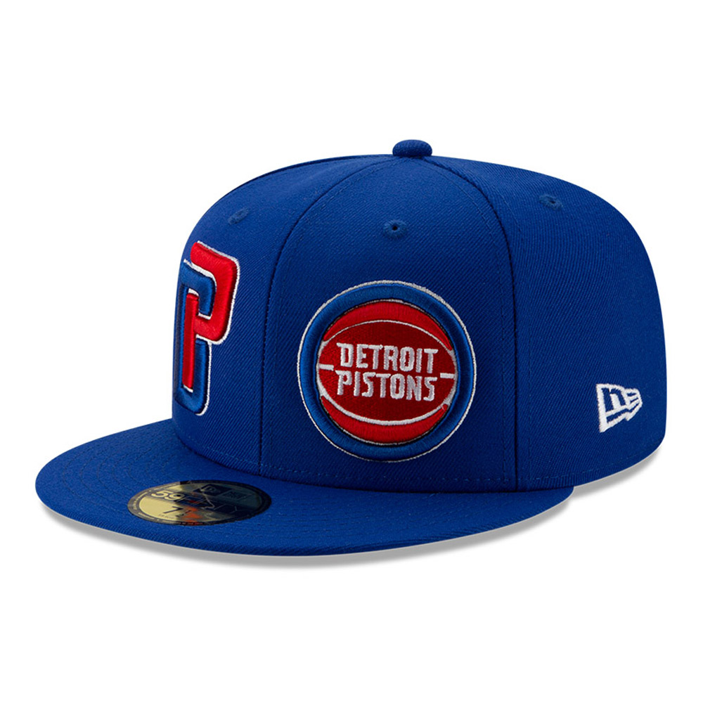 Detroit Pistons 100 Year Blue 59FIFTY Cap