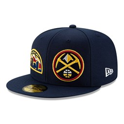 Gorra Denver Nuggets 100 años 59FIFTY, azul